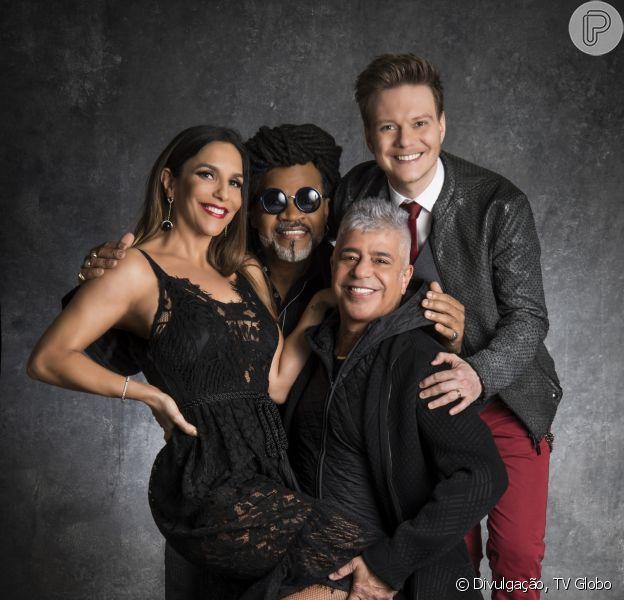 A nova temporada do 'The Voice Brasil' estreia dia 17 com Ivete Sangalo, Carlinhos Brown, Michel Teló e Lulu Santos. Entre as novidades, os programas iram ao ar nas noites de terça e quinta