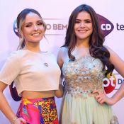 Larissa Manoela descarta rivalidade com Maisa Silva: 'Somos muito amigas'
