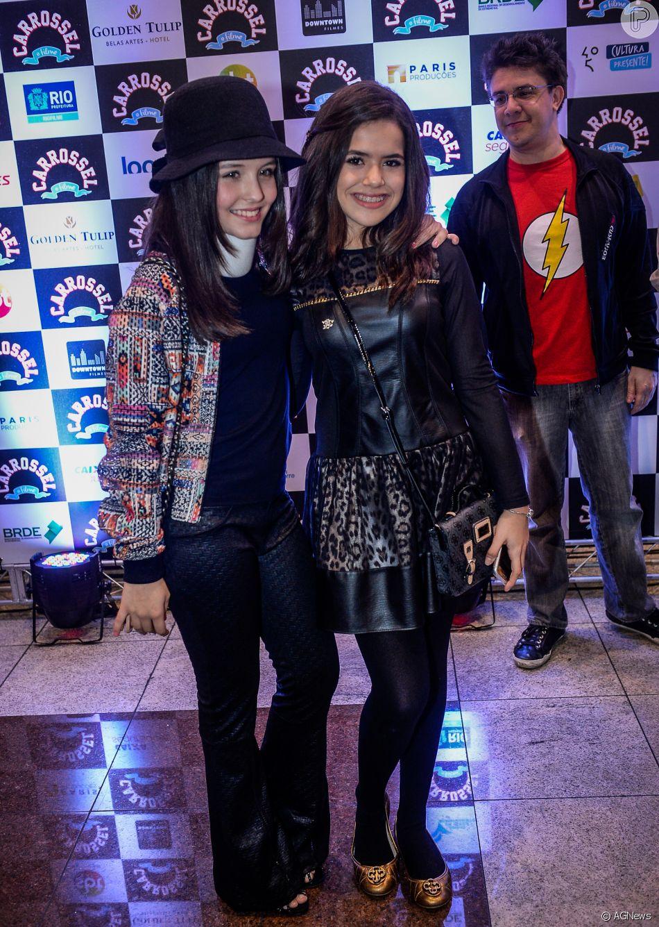 faa53c781aab2 Larissa Manoela fala das diferenças entre as suas redes sociais e as de Maisa  Silva