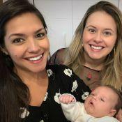 Thais Fersoza visita filho de Mariana Bridi e Rafael Cardoso: 'Amor em uma foto'