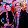Primeira gravidez de Aline Fanju é fruto de seu relacionamento com o ator e diretor Marcelo Cavalcanti