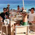 Ana Furtado viajou com a família para Ibiza, na Espanha, recentemente