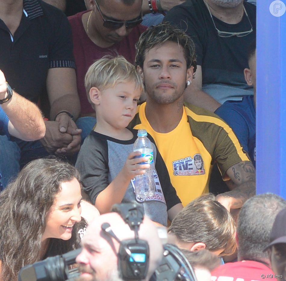Valor de pensão de Neymar ao filho, Davi Lucca, é indicado pela 'Forbes'