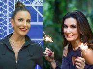 Ivete e Fátima Bernardes marcam encontro pela web: 'Eu, você, Daniel e Túlio'