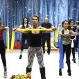 Elenco de 'Dança dos Famosos' faz o primeiro ensaio nesta terça-feira, 29 de julho de 2014