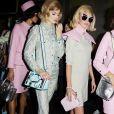 Pink na passarela da Moschino, em sua versão millenial