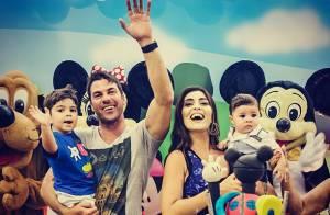 Juliana Paes planeja viajar com os filhos após nova lua de mel com marido