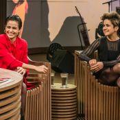 Nanda Costa vai a 'point de paparazzi' com Lan Lanh: '1ª vez de mãos dadas'