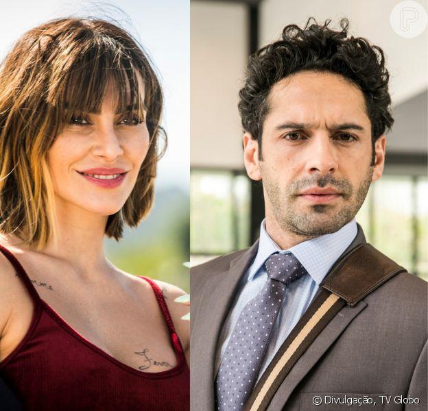 Betina (Cleo) forma aliança com Emílio (João Baldasserini) para reatar com Samuca (Nicolas Prattes), nos próximos capítulos da novela 'O Tempo Não Para'