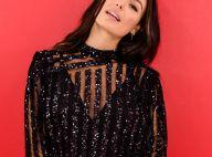 Isis Valverde usa look soltinho com transparência e brilho em evento. Fotos!