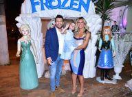 Filha de Mirella Santos e Ceará ganha festa de aniversário com tema de 'Frozen'