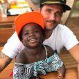 Bruno Gagliasso vai passar o Dia dos Pais com a filha, Títi, de 5 anos