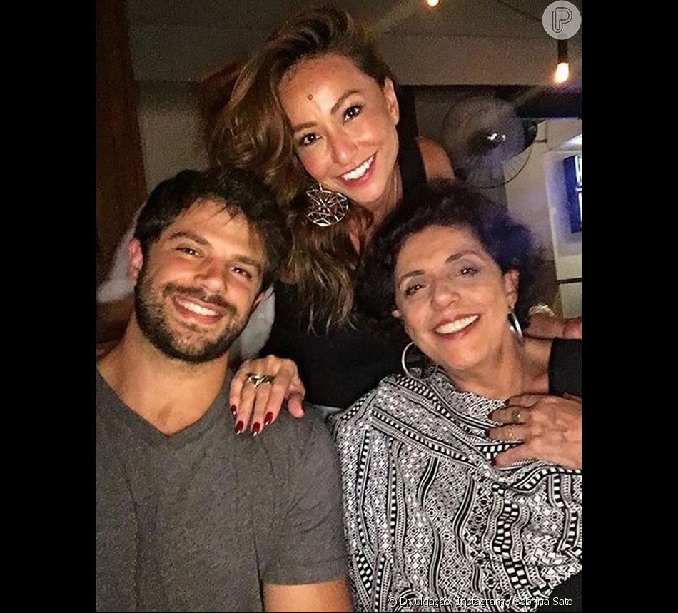 Sogra de Sabrina Sato, Leda Nagle escolhe nome provisório para a filha de Duda Nagle, em 12 de agosto de 2018