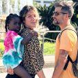 Giovanna Ewbank disse que Bruno Gagliasso e a filha, Títi, 'parecem almas gêmeas'