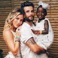 Giovanna Ewbank homenageou Bruno Gagliasso pelo Dia dos Pais em seu Instagram