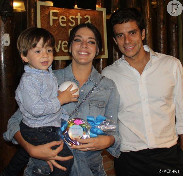 Luma Costa está grávida de seu segundo filho