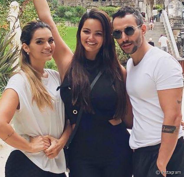 Mico Freitas, marido de Kelly Key, foi reconhecido na Justiça como pai de Suzanna, filha da cantora com Latino