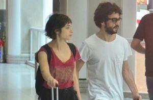 Caio Blat posa em clima romântico com Luisa Arraes: 'Meu Rio São Francisco'