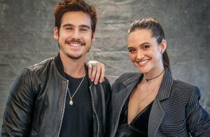 Juliana Paiva dispensa rótulo em relação com Nicolas Prattes: 'Estamos felizes'