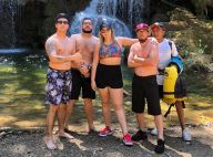 Marília Mendonça curte folga dos palcos em cachoeira com amigos: 'Bonito mesmo'