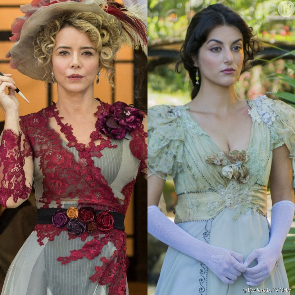 Josephine (Christine Fernandes) vai tentar matar a nora, Cecília (Anaju Dorigon), mas cai de um penhasco no final da novela 'Orgulho e Paixão'