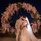 Camila Queiroz comenta casamento com Klebber Toledo: 'Pôr do sol mais lindo'