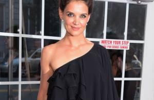 Katie Holmes prestigia estreia do filme 'The Giver', em Nova York