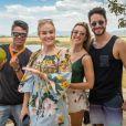 Angélica levou o 'Estrelas' para vários Estados do Brasil. Com Cris Dias e Rainer Cadete, o passeio foi nas dunas de Cumbuco, no Ceará, Fortaleza