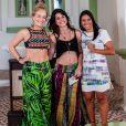 Angélica promoveu um reencontro entre a atriz Chandelly Braz e sua amiga de infância no 'Estrelas' em janeiro de 2017