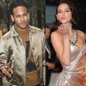 Neymar manda beijo para Bruna Marquezine e atriz pede: 'Quero pessoalmente'
