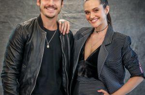 Nicolas Prattes elogia Juliana Paiva em foto após viagem com atriz: 'Bela'