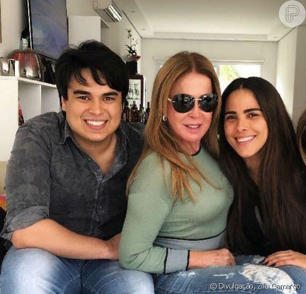 Filho Zilu Camargo, Igor discordou da declaração da mãe sobre todo o homem ser infiel