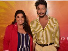 Fabiana Karla comemora noivado com Diogo Mello: 'Momento muito especial'