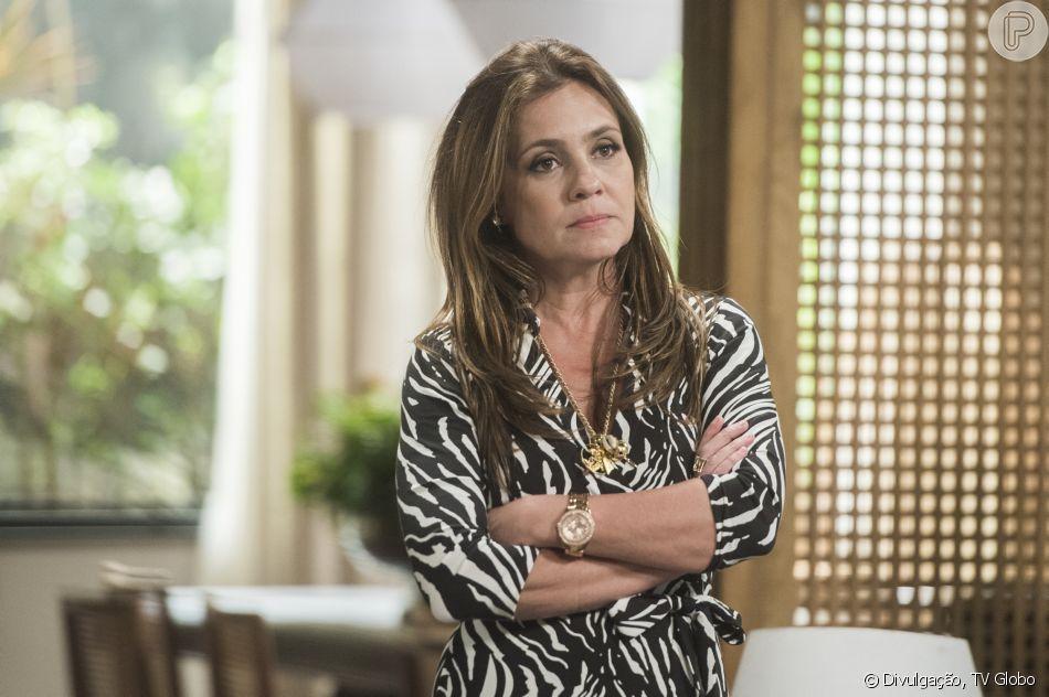 Laureta (Adriana Esteves) é presa acusada de tráfico de drogas no capítulo de sábado, 22 de setembro de 2018 da novela 'Segundo Sol'