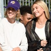Justin Bieber e a noiva, Hailey Baldwin, prestigiam desfile em Nova York. Fotos!