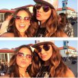 Bruna Marquezine e Stephannie Oliveira se divertem em Los Angeles, nos EUA