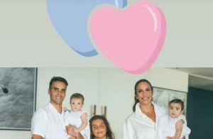 Ivete Sangalo mostra detalhes da festa de batizado das filhas gêmeas. Veja vídeo