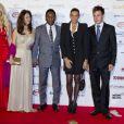 O casal compareceu ao Golden Foot 2012, que aconteceu em outubro de 2012 em Mônaco, e posou ao lado de Stéphanie