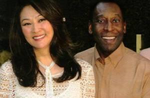 Aos 73 anos, Pelé se casa ainda este ano com a empresária Márcia Cibele Aoki