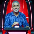 Lulu Santos defendeu Priscila Tossan das críticas por cantar a música 'O Sapo' no 'The Voice Brasil'
