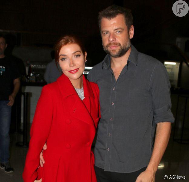 Luiza Possi está a uma semana de se casar com o diretor Cris Gomes