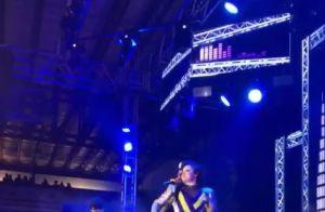 Maiara e Maraisa arrasam no funk em show na quadra da Beija-Flor. Vídeo e fotos!