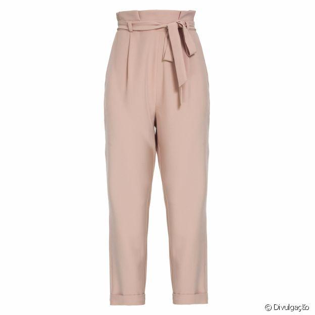 Produtos para entrar no clima do outubro rosa: calça Marisa, R$ 99,95
