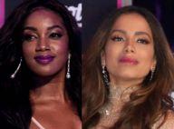 Iza sai em defesa de Anitta após internauta ofender cantora: 'Melhore'