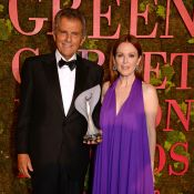 Tudo sobre o look sustentável de Julianne Moore no Green Carpet Fashion Awards