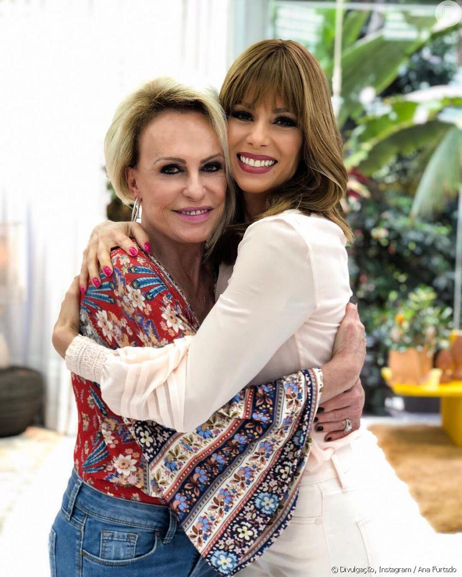 Ana Maria Braga chora ao recordar câncer em entrevista com Ana Furtado