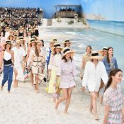 As tendências do desfile da Chanel que levou a praia para Paris