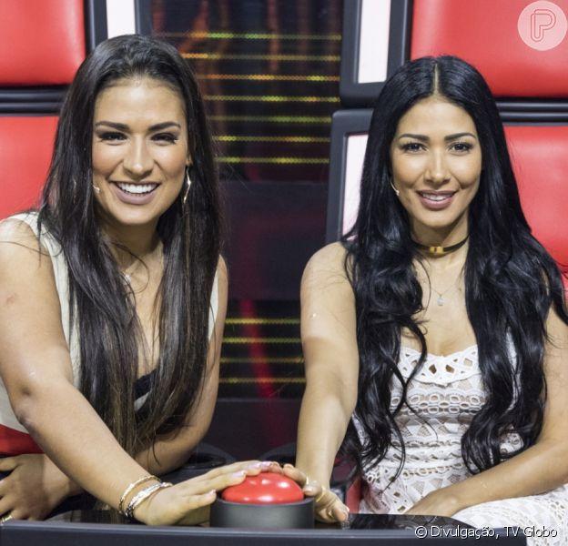 Simone e Simaria estão confirmadas como juradas do 'The Voice Kids', em 3 de outubro de 2018