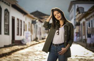 'Espelho da Vida': Cris avisa Alain que não fará mais papel de Júlia em filme