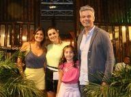 Flávia Alessandra e Otaviano Costa comemoram aniversário da filha, Olívia. Fotos